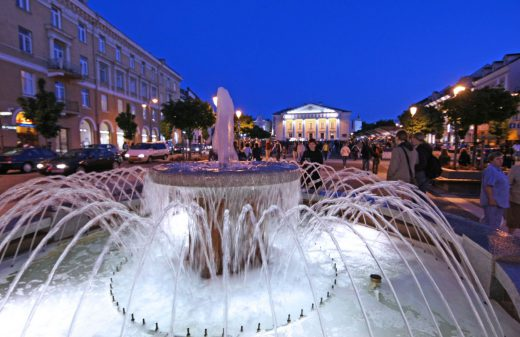 "VðÁ ""Vilnius - Europos kultûros sostinë 2009"" organizuota kultûros, meno, muziejø ir muzikos ðventë ""Tebûnie naktis!"" Vilniuje."
