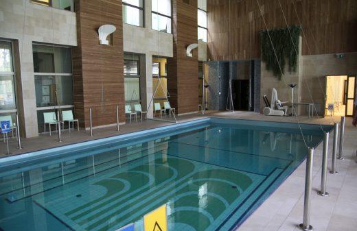 Egles sanatorija Birstone plaukimo baseinas